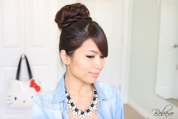 Stupendous Hair Buns Archives Bebexo Lifestyle Amp Beauty Blog Hairstyles For Women Draintrainus