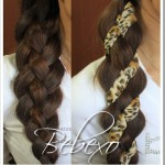 How to: 4 Strand Scarf Ribbon Braid Hairstyle