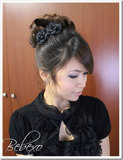 Prom Updo Hairstyles by Bebexo
