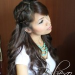 Boho Chic Lace Braid Hairstyle Tutorial