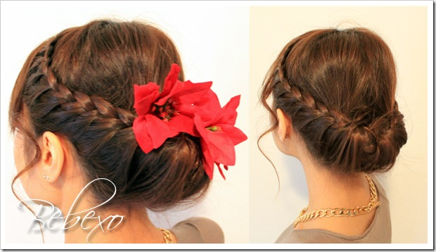Hairstyles Holiday : Holiday Lace Braided Updo Hairstyle ? Bebexo Lifestyle & Beauty Blog