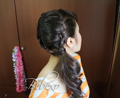 Double French BRaid Hairstyle by Bebexo