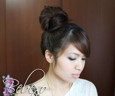 Korean Hair Bun by Bebexo