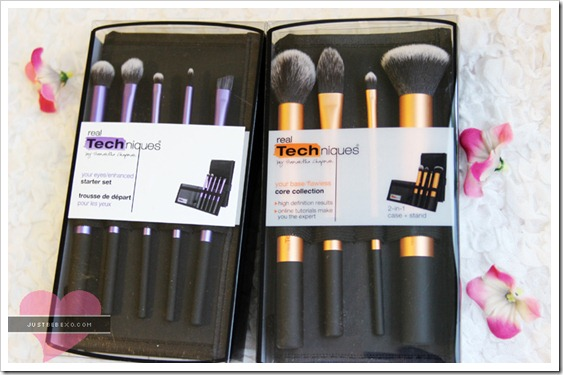 Real Technique Makeup Brushes Review
