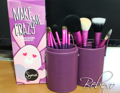 Sigma Make Me Up Collection Makeup Brushes