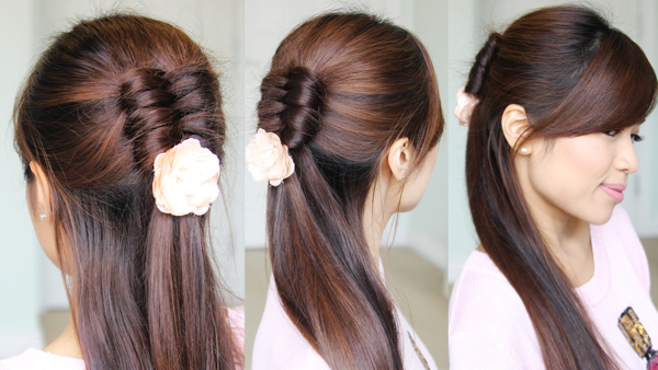 Dutch Infinity Braid Hairstyle by Bebexo