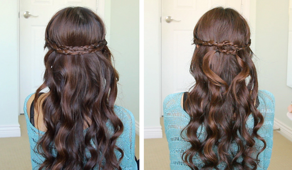 Irregular Braid Headband Hairstyle by Bebexo