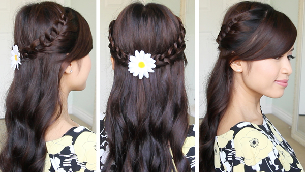 Crochet Loop Braid Hairstyle - ? just bebexo